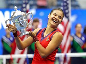 Nebunie istorică: Emma Răducanu (18 ani) e noua campioană a US Open!Emma Răducanu - Leylah Fernandez 6-4, 6-3