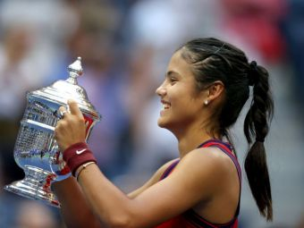 Multi-milionară la 18 ani! Cât va câștiga Emma Răducanu pentru titlul cucerit la US Open și câte jucătoare întrece în clasamentul WTA