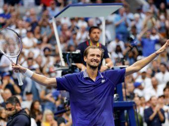 Daniil Medvedev îi strică petrecerea lui Novak Djokovic și câștigă primul Grand Slam al carierei: 6-4, 6-4, 6-4 în finala US Open 2021