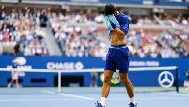 Huiduit pe cea mai mare arenă de tenis din lume în seara care i-ar fi putut schimba viața: reacția nervoasă a lui Novak Djokovic