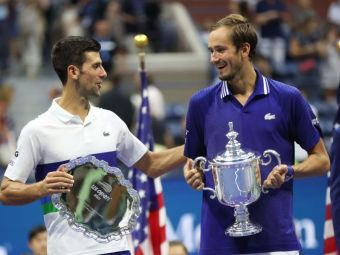"""""""Rușii știu să sărbătorească, o să petrec câteva zile!"""" Daniil Medvedev exultă, Novak Djokovic respiră: """"Mă bucur că s-a terminat!"""""""