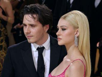 Fiul lui Beckham și iubita au făcut senzație la MET Gala! Cum au apărut pe covorul roșu. Tânăra l-a eclipsat