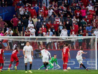 S-a scris istorie în Champions League! Sevilla - Salzburg, primul meci în care se acordă patru penalty-uri