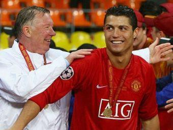 Sir Alex Ferguson a vorbit despre rolul pe care l-a avut în revenirea lui Cristiano Ronaldo la United