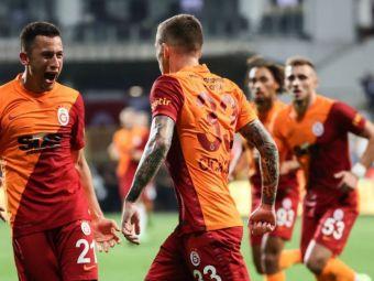 Planul pregătit de Fatih Terim pentru duelul cu Lazio din Europa League. Ce implicare au Cicâldău și Moruțan