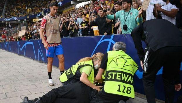 Cristiano Ronaldo s-a revanșat după ce a lovit un steward! Gestul superstarului portughez