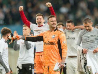 Spartak Moscova - Legia 0-1. Polonezii dau lovitura în prelungirile partidei