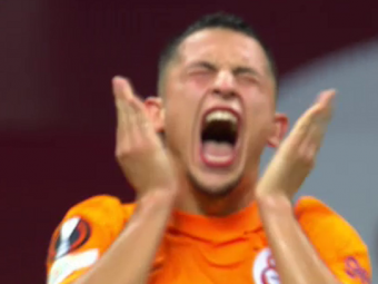 Moruțan, aproape să marcheze primul gol la Galatasaray! Execuția superbă a românului