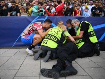 """Credea că a murit! Ce a spus femeia lovită de Ronaldo la încălzire: """"L-am văzut și durerile de cap s-au dus"""""""