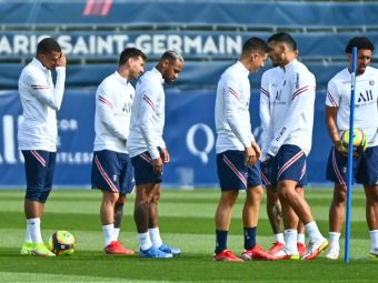 """""""Nici atunci nu se relaxează!"""" Dezvăluiri de la antrenamentele lui PSG! Cum impresionează Messi"""