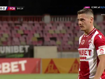Dinamo marchează după cinci etape fără gol, însă pierde meciul cu FC Botoșani. Moldovenii, la un punct de liderul CFR