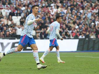 Trei partide, patru reușite! Cristiano Ronaldo, mașină de goluri pentru Manchester United. A marcat din nou în campionat