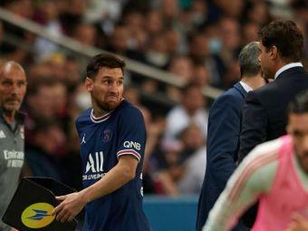 Messi, deranjat după ce a fost schimbat! L-a lăsat cu mâna întinsă pe Pochettino