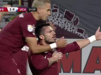 CFR Cluj - Universitatea Craiova 1-0   Burcă îi aduce prima victorie lui Petrescu de la revenirea în Gruia