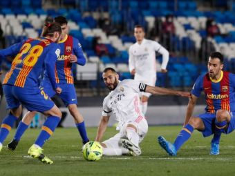 S-a anunțat ora la care se joacă primul El Clasico după plecările lui Messi și Ramos! Când se întâlnesc Barca și Real