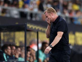 Încă un pas greșit pentru Barcelona! Catalanii au remizat cu echipa lui Florin Andone! Koeman și de Jong au fost eliminați