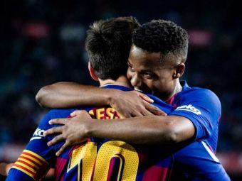 Noul decar al Barcelonei, gata să strălucească după plecarea lui Messi! Ansu Fati revine în lotul catalanilor. Ce a spus Koeman