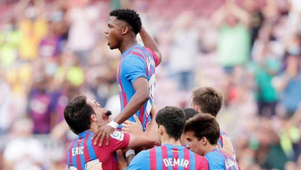 Messi e istorie! Ansu Fati s-a întors pe teren și a înscris spectaculos! Cum a marcat noul decar al Barcei