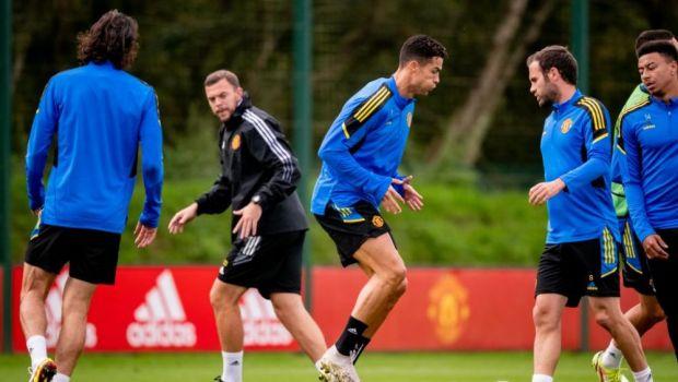 """Imagine spectaculoase de la antrenamentul lui United! Ronaldo a primit """"lecții"""" de la Jesse Lingard"""