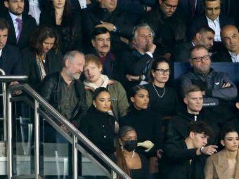 Super apariție pe Parc des Princes! Ed Sheeran, prezent la meciul cu Manchester City, s-a fotografiat cu Leo Messi