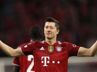 LewanGOLski! 'Mașina de goluri' a lui Bayern e de neoprit! Cifre monstruoase în acest an