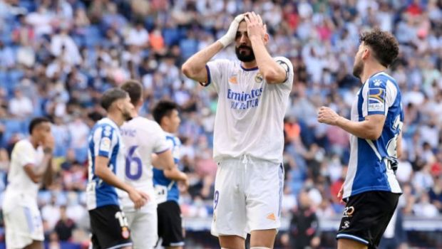 Real Madrid, la rând să sufere în Primera Division. Prima înfrângere în campionat, cu Espanyol Barcelona