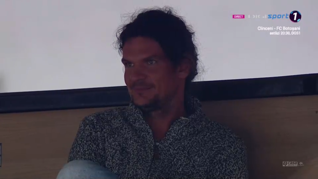 Ionuț Chirilă, susținut de fratele său la meciul cu Botoșani! Tudor Chirilă e în tribunele stadionului Dinamo