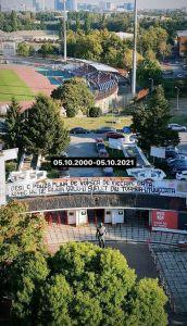 """Fanii dinamoviști, comemorare pentru Cătălin Hâldan, la 21 de ani de la dispariția """"unicului căpital"""""""