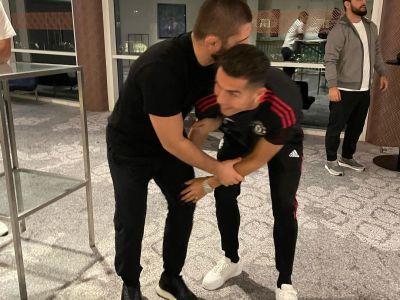 Khabib Nurmagomedov și Cristiano Ronaldo