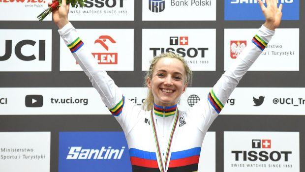 O ciclistă britanică a câștigat argintul la Tokyo, în timp ce era însărcinată!