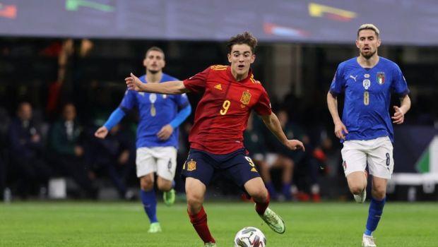 """Italia - Spania 1-2. Selecționerul Luis Enrique, cucerit de debutantul de 17 ani venit de la Barcelona: """"Este inuman"""""""
