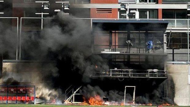 Panică pentru Kane&co! Arena din Andorra a luat foc la ceva timp după antrenamentul Angliei