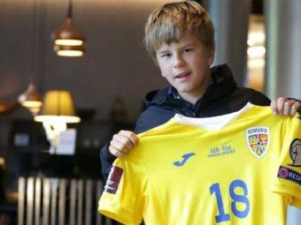 Gest superb! Puștiul de 12 ani care s-a vaccinat pentru a putea intra la meciuri, a asistat la Germania - România