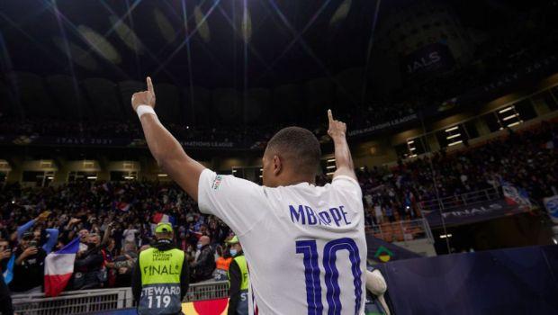 """Spania - Franța 1-2. """"Cocoșul galic"""" câștigă Nations League, după ce a fost condus. Mbappe, omul finalei"""