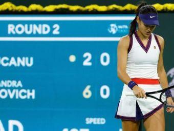 """Andy Murray, reacție curioasă după eșecul dureros al Emmei Răducanu de la Indian Wells: """"Toată lumea se aștepta!"""""""