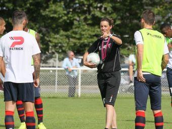 SPECIAL | Jucătorul adus de Rednic la Dinamo a fost lansat în fotbalul profesionist de o femeie antrenor!