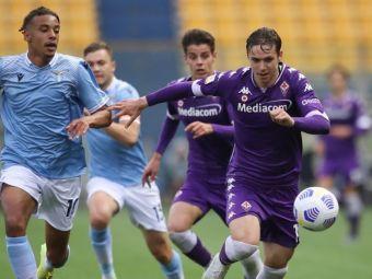 Culoar pentru Louis Munteanu la Fiorentina: Kokorin este accidentat, iar Vlahovic se pregătește să plece
