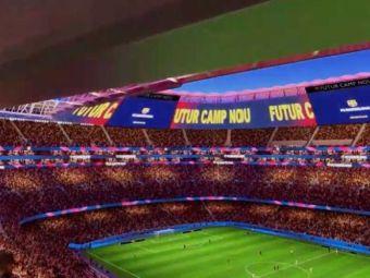 """Așa va arăta noul Camp Nou! """"Bijuteria"""" Barcelonei poate deveni cel mai frumos stadion din lume"""