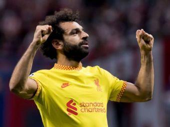 Salah a intrat în istoria lui Liverpool! Record impresionant stabilit de atacantul egiptean