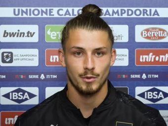 """Primele declarații ale lui Drăgușin după debutul la Sampdoria: """"Sper să fie începutul evoluției mele printre cei mai buni!"""""""