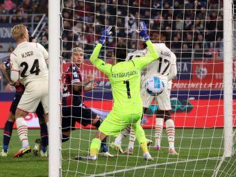 Nu e ce trebuie! Tătărușanu a luat iar două goluri și a fost taxat de italieni