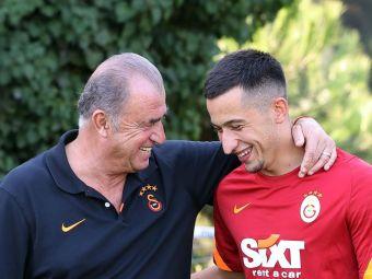 Planul pe care Fatih Terim îl are pentru Moruțan în derby-ul cu Beșiktaș. Românul, rol esențial în joc