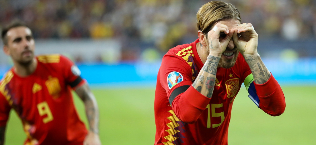 Pentru cine era in realitate gestul facut de Sergio Ramos pe National Arena. FOTO