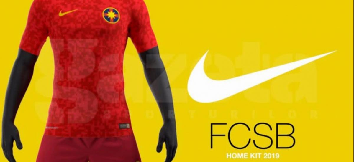 Tricouri militare pentru FCSB in sezonul urmator